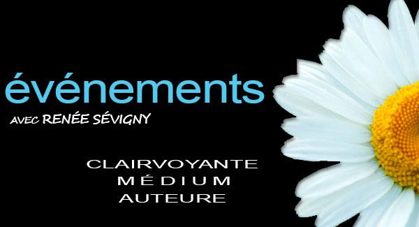 evenement clairvoyance Renée Sévigny