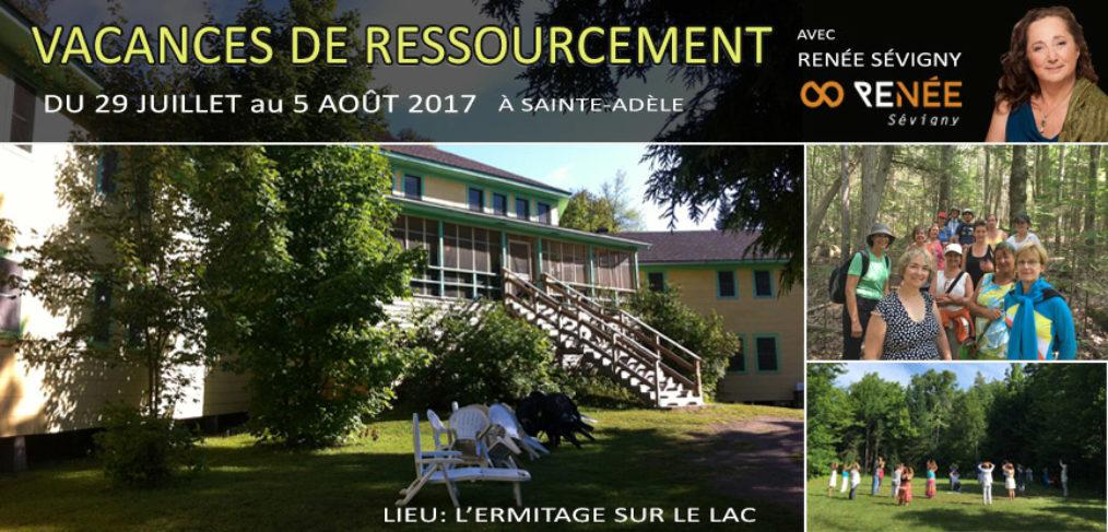 vacances de ressourcement Renée Sévigny